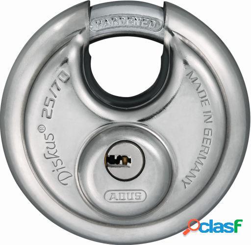 ABUS Candado redondo 70mm llave de puntos blister