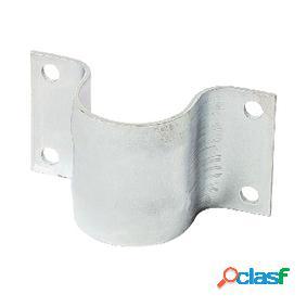 Abrazadera de mástil de acero galvanizado de 48 mm