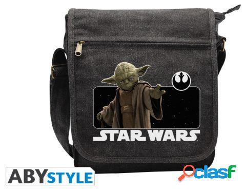 Abysse Star Wars Messenger Bag Yoda Small Size With Hook 250