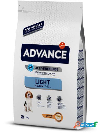 Advance Pienso Medium Light Pollo y Arroz 12 Kg