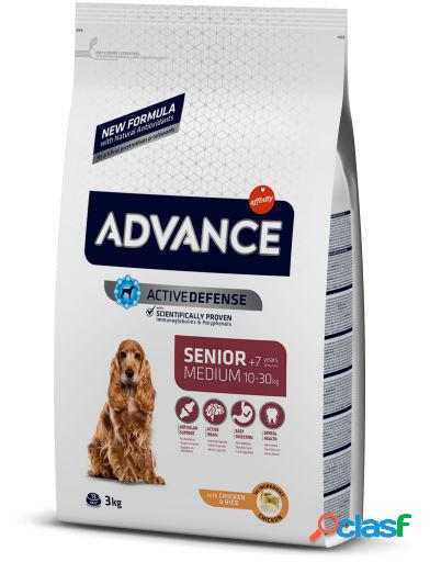 Advance Pienso Medium Senior Pollo y Arroz 12 Kg