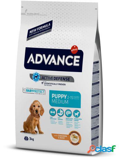 Advance Pienso Puppy Medium Pollo y Arroz 12 Kg