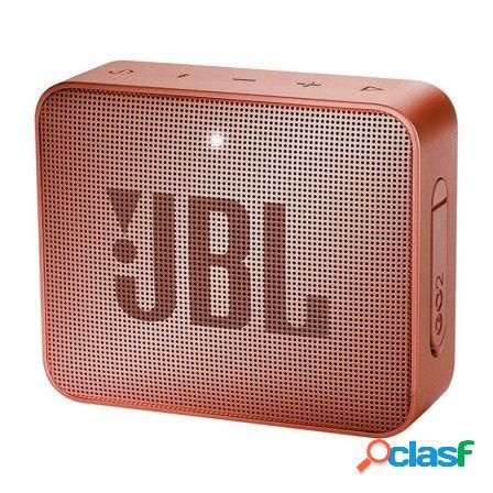 Altavoz bluetooth jbl go 2 cinnamon - 3w - bt4.1 - entrada