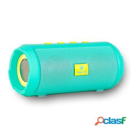 Altavoz bluetooth ngs roller tumbler mint - bt 4.2 - 6w -