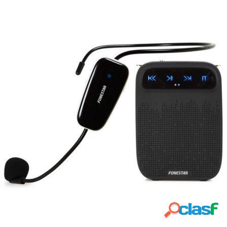 Amplificador portatil fonestar alta-voz-w - 18w max. -
