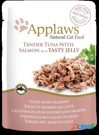 Applaws Gelatina de Atun con Salmon para Gatos 70 GR