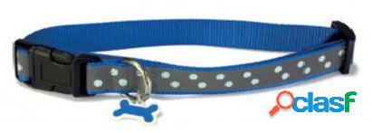 Arquivet Collar Perro Reflectante Azul 22 cm