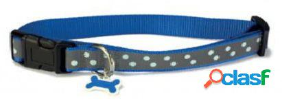 Arquivet Collar Perro Reflectante Azul 35 cm