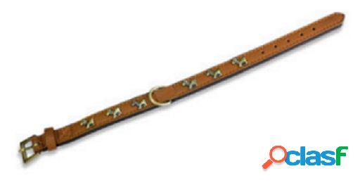 Arquivet Collar Piel Perro 2 X 45 Cm Marrón