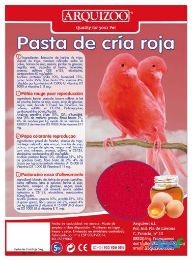 Arquivet Pasta De Cria Roja 300 GR
