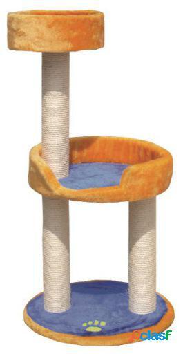 Arquivet Rascador Azul / Naranja 103Cm.