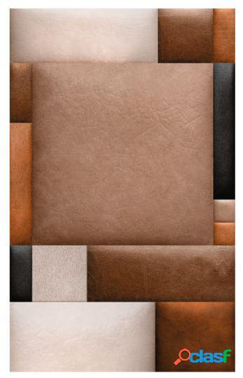Artgeist Papel Pintado - Cubitos de cuero