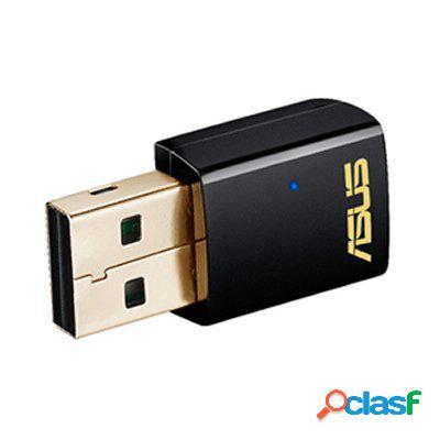 Asus Usb-Ac51 Tarjeta Red WiFi Ac600 Usb, original de la