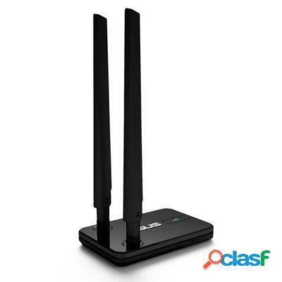 Asus Usb-N14 Tarjeta Red WiFi N300 Usb, original de la marca