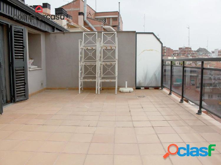 Atico Duplex con dos terrazas en el Escorxador