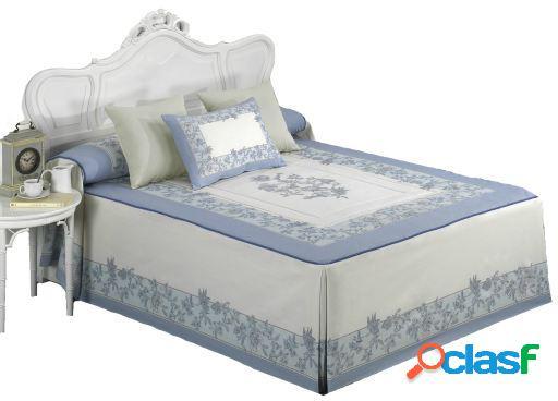 Barbadella Colcha edredon napoles azul 50 cm 135x220x50 cm