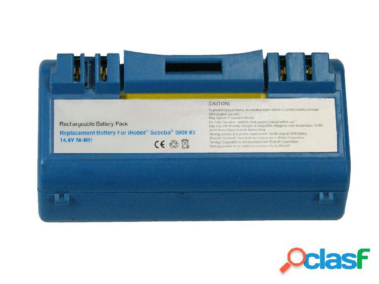 Bateria 4800 mah para aspirador, bateria Scooba 330, bateria