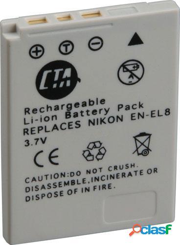 Bateria En-El8, para Nikon