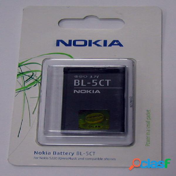 Bateria con blister Nokia Bl-5Ct, original de la marca Nokia