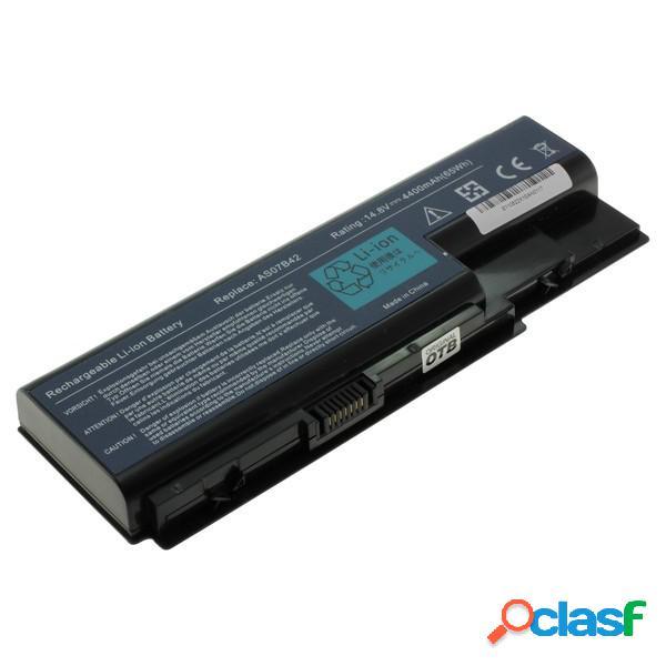 Bateria para Acer Aspire 5230 Litio Ion 4400 mAh, 14,4v