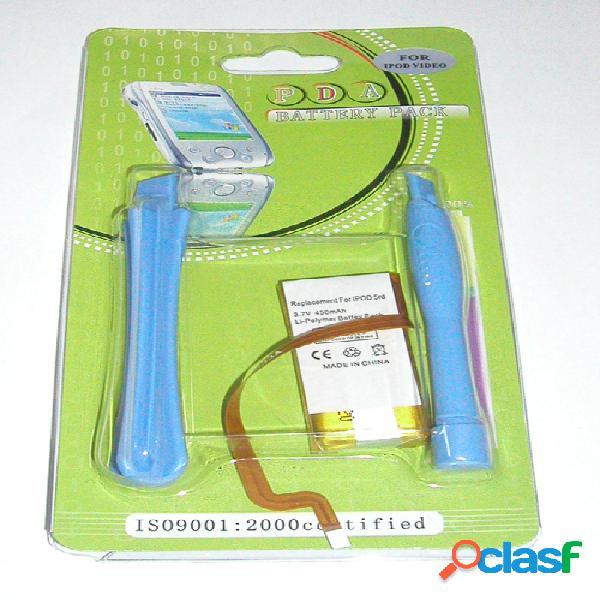 Bateria para Apple Ipod Video, 5G 30 Gb, Litio Ion