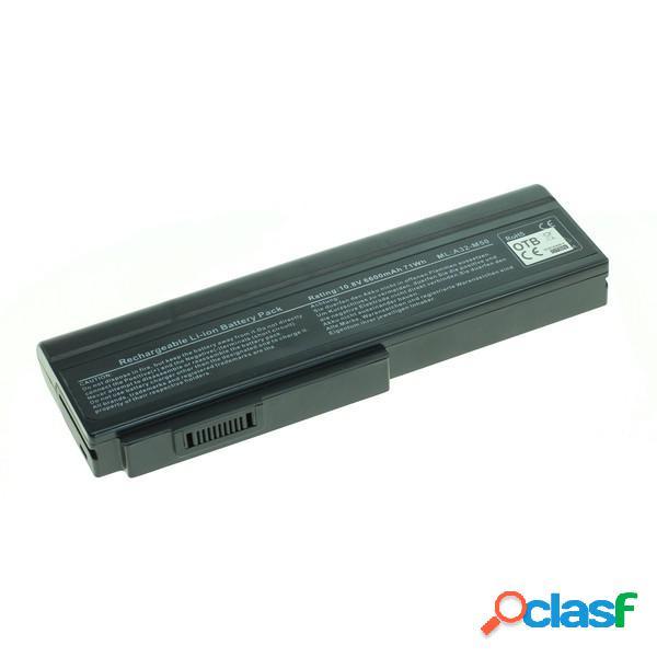 Bateria para Asus A32-M50,A32-X 64 6600 mAh Litio Ion