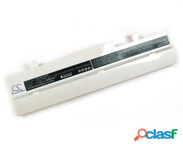 Bateria para Asus Eee Pc 1005 Serie 4400 mAh blanca