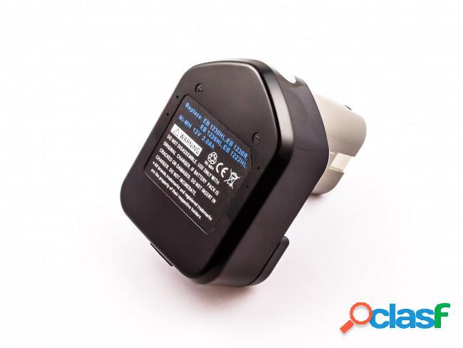 Bateria para Hitachi Dh15Dv, NiMh, 12V, 2000mAh, 24Wh