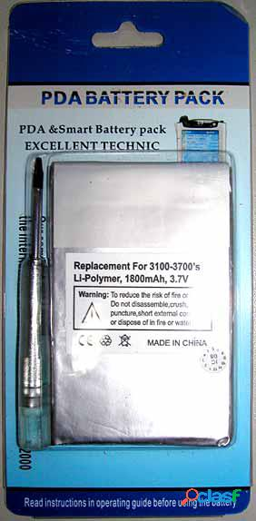 Bateria para Hp Compaq iPaq H31xx, H36xx, H37xx
