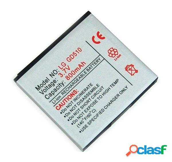 Bateria para Lg Gd510, Gd880, Litio Ion