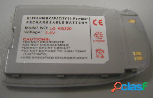 Bateria para Lg Kg220, Kg225, Litio Polymer