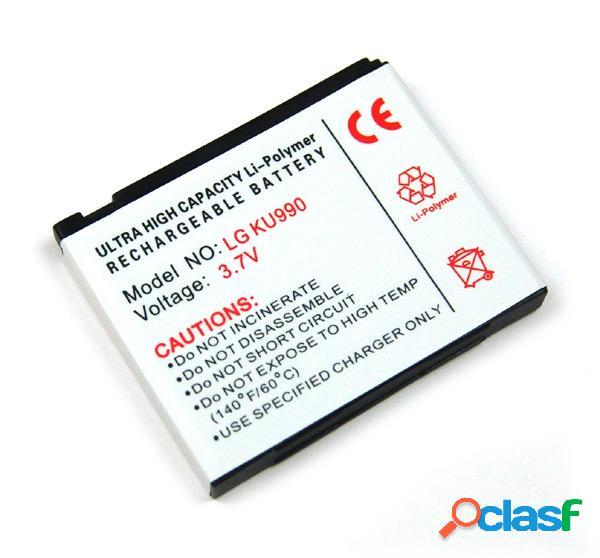 Bateria para Lg Ku-990, Ku990, Km-900, Km900, Hb620T, Litio