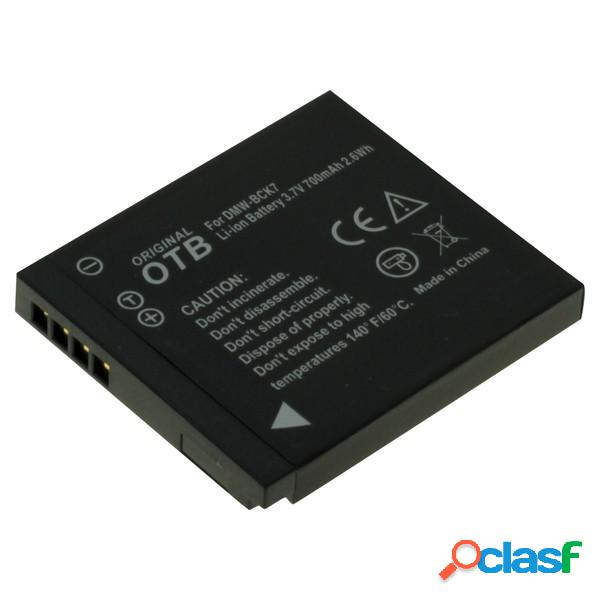 Bateria para Panasonic Dmw-Bck7, Litio Ion