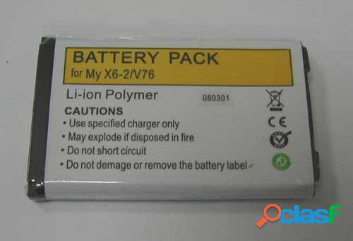 Bateria para Sagem Myx6-2, V76, Litio Polymer