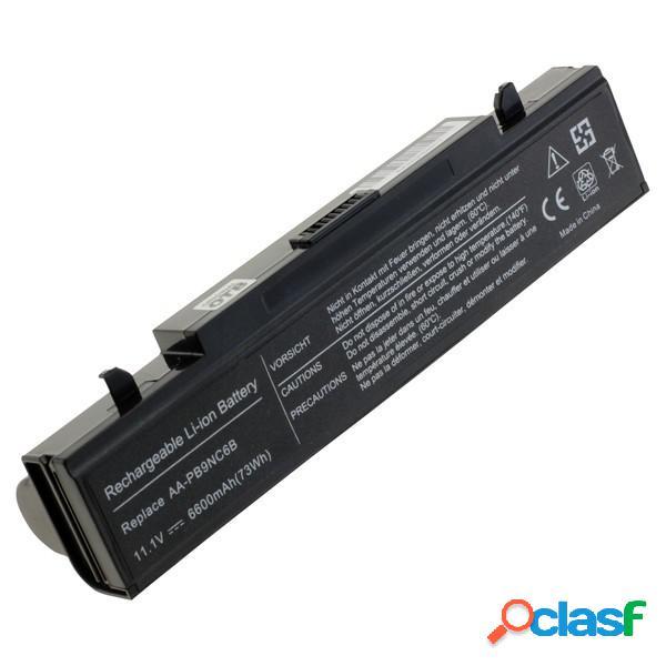 Bateria para Samsung Aa-Pb2Nc3B,Np Rv411, Litio Ion, 6600