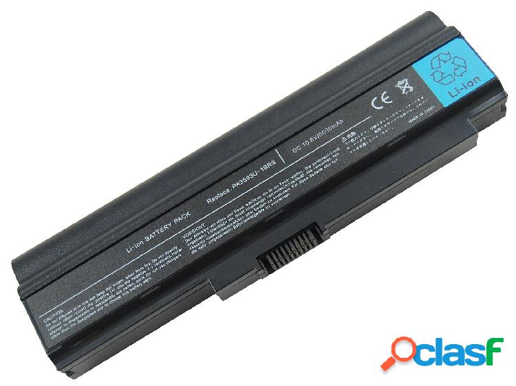Bateria para Toshiba Satellite Pa3593U-1Bas, Pa3594U-1Brs,