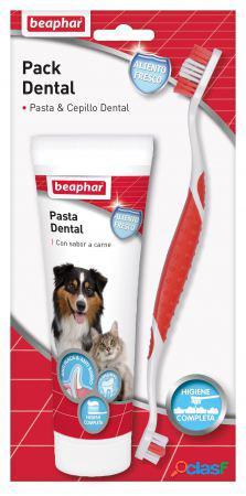 Beaphar Pack Dental Pasta + Cepillo