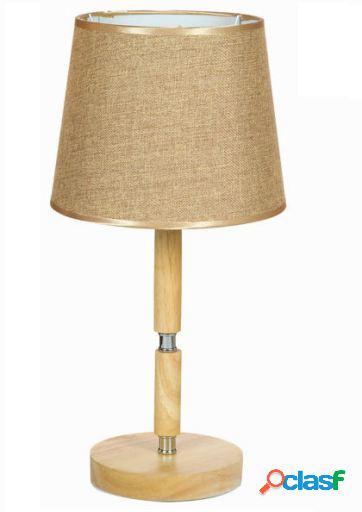Bigbuy Lámpara de mesa de haya by Shine Inline