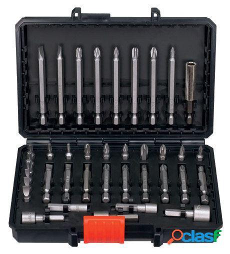 Black and Decker Pack con 38 piezas para atornillar