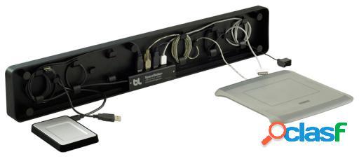 Bluelounge Spacestation - Organizador De Cables Y Stand Para