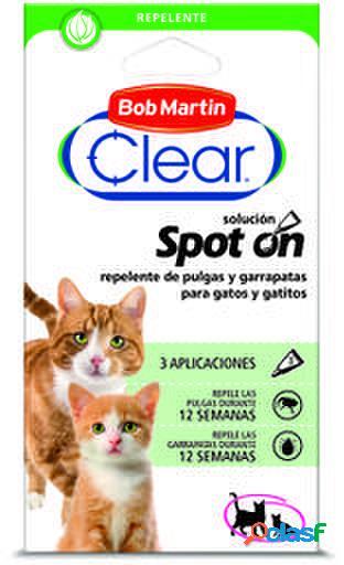 Bob Martin Pipetas Clear Pipetas Repelentes para Gatitos y