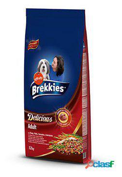 Brekkies Excel Delicious Buey, Pollo, Cereales y Verduras 12
