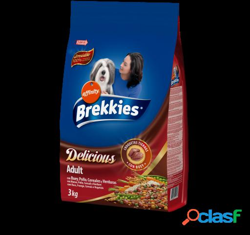 Brekkies Excel Pienso Delicious Buey 3 Kg