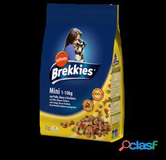 Brekkies Excel Pienso Mini Pollo, Buey y Verduras 1.5 Kg