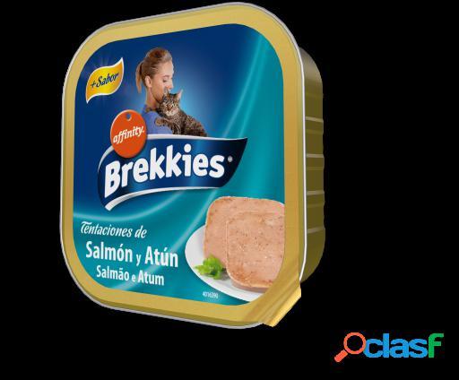 Brekkies Excel Tarrina Salmón y Atún 32x100 gr