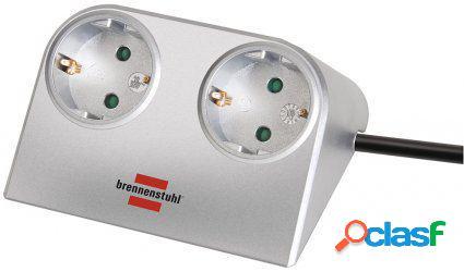 Brennenstuhl Regleta de sobremesa con conector USB 2.0 2