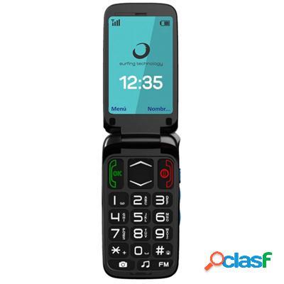 """Brigmton Btm3 Telefono Movil 2. 4"""" Sos 3Mpx Bt + Do,"""