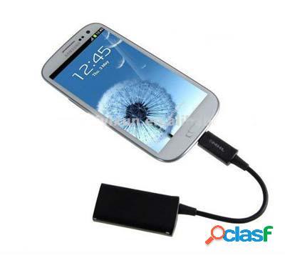 Cable Hdmi a micro Usb para Samsung Galaxy S3, i9300, Note 2