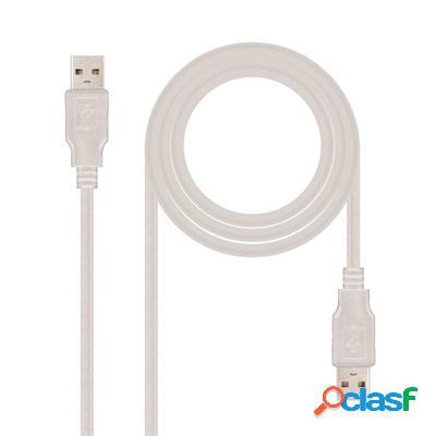 Cable Usb 2. 0, Tipo A/M-A/M, 2. 0 M, original de la marca