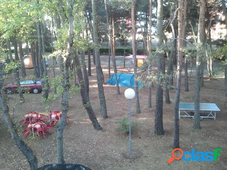 Camping Fabuloso con 2 piscinas,cabañas y 60 parcelas a 3